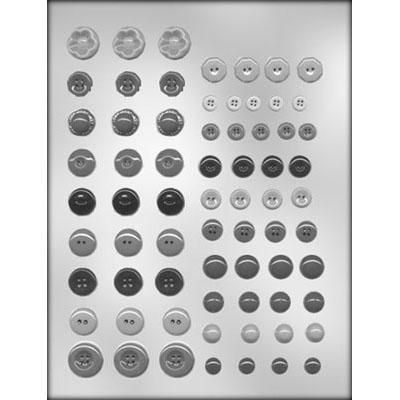 Button Assortment Choc Mold