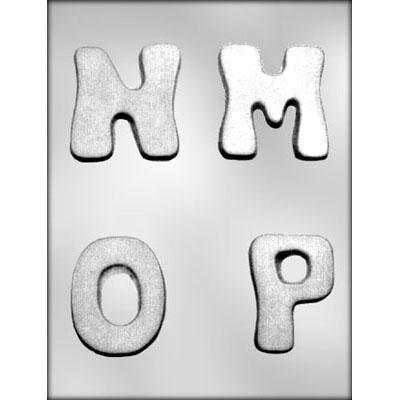 "2-3/4"" M-N-O-P Choc Mold"
