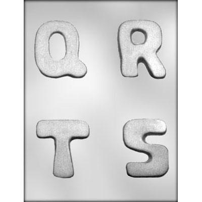 "2-3/4"" Q-R-S-T Choc Mold"