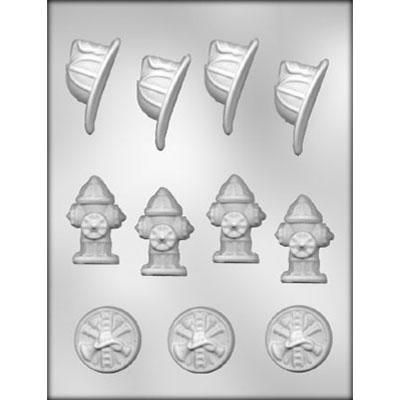 Fireman Assortment Choc Mold