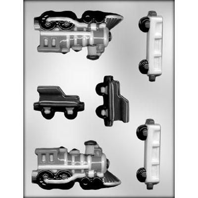 "4-1/2"" 3D Train Choc Mold"
