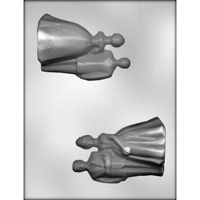 "4-1/4"" Couple 3D Choc Mold"