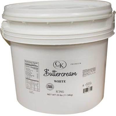 PHO Free Buttercream Icing White 25#