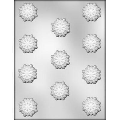 "1 3/8"" Snowflake Choc Mold"