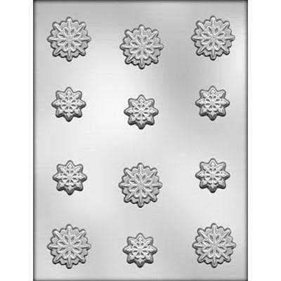 Snowflakes Choc Mold