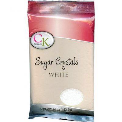 16 Oz Sugar Crystals - White