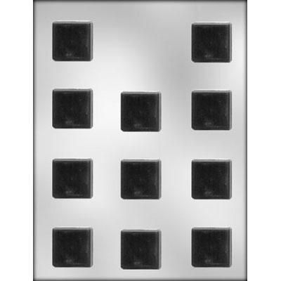 "1-1/4"" Square Mint Choc Mold"