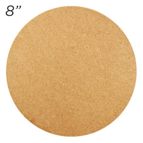 "Masonite Cake Board 8"" Round"