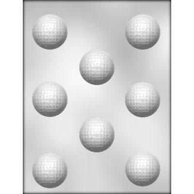 "1-5/8"" Golf Ball Choc Mold"