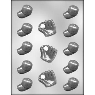 Baseball Caps/Gloves Choc Mold