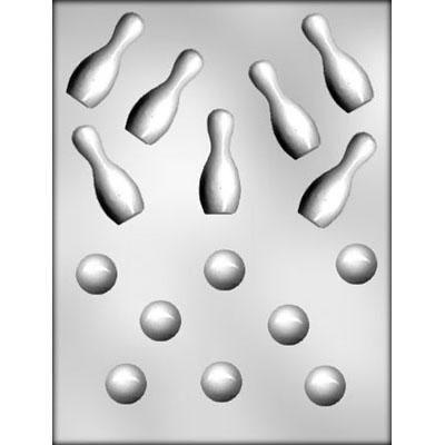 Bowling Ball/Pin Choc Mold