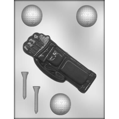 Golf Bag/Ball Choc Mold