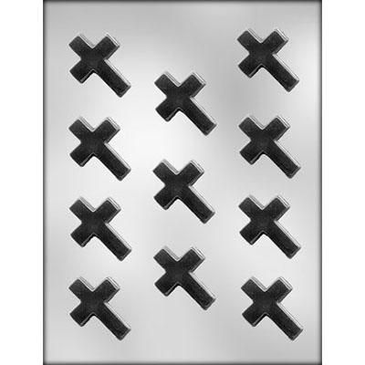 """1 7/8"""" Cross Choc Mold"""
