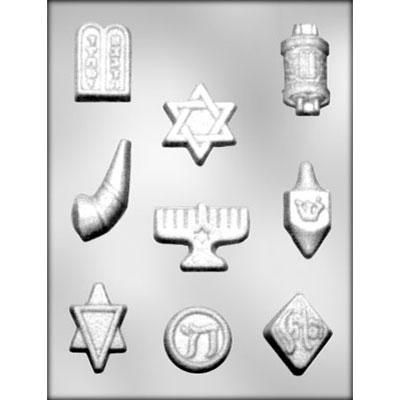 Jewish Symbol Choc Mold