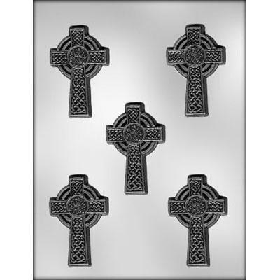 "3"" Celtic Cross Choc Mold"