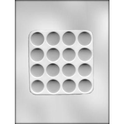 """1"""" Flower Formers Choc Mold"""