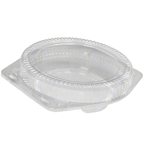"9"" Shallow Pie Container, 6 ct"