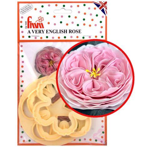 A Very English Rose Cutter Set