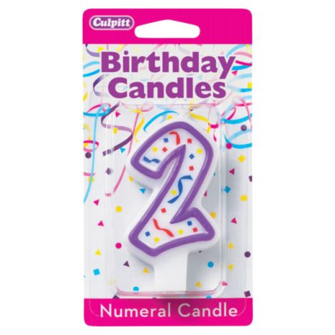 Birthday Candle Number 2