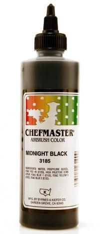 Airbrush Food Color Midnight Black - 9 oz