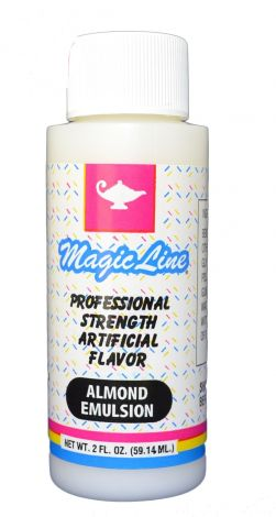 Magic Line Almond Emulsion 2 oz.