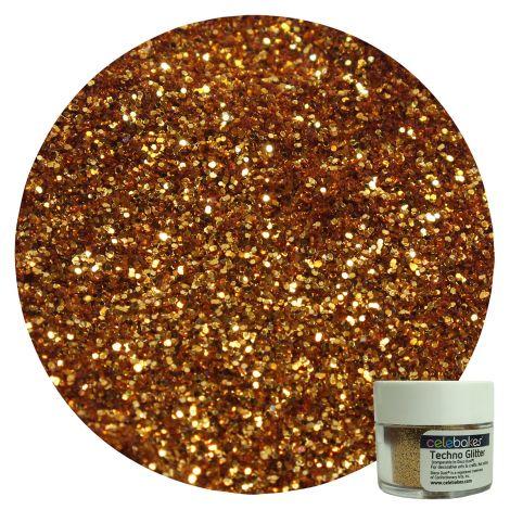 Celebakes Techno Glitter - American Gold