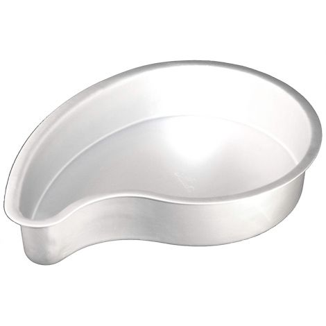 "Fat Daddio's Anodized Aluminum Comma Cake Pan, 10"" x 3"""