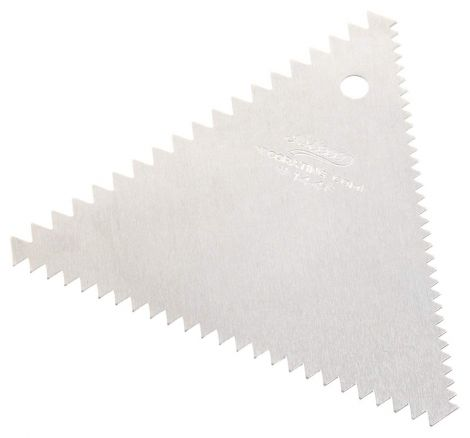 Decorating Comb, 3 Sided