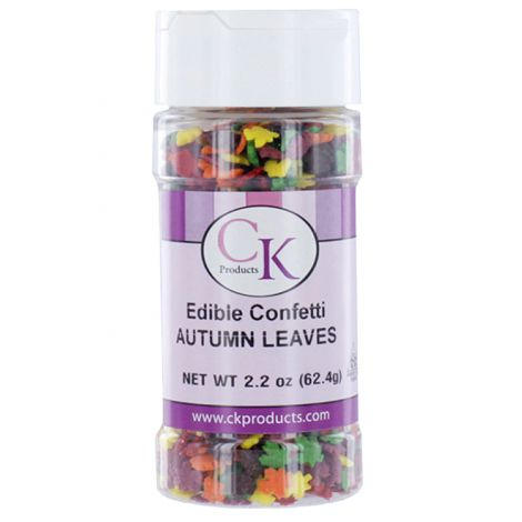Autumn Leaf Sprinkles 2.2 oz