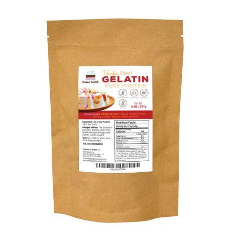 Beef Powder Gelatin, 8 oz