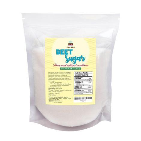 Beet Sugar 5 lb. by Cake S.O.S