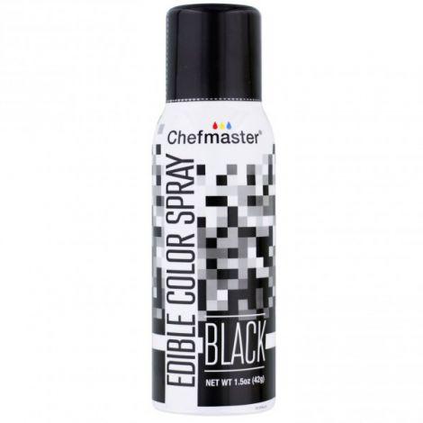 Edible Black Spray - 1.5 oz.