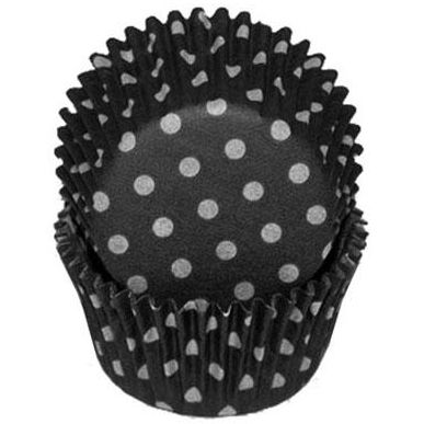 Black Polka Dot Baking Cups, 500 ct.