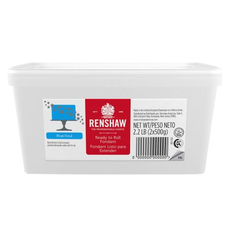 Ready to Roll Fondant Icing Blue 2.2 lb