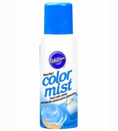 Blue Color Mist