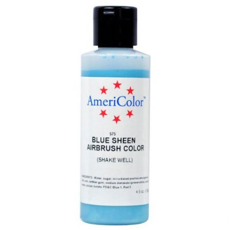 Amerimist Airbrush Color Blue Metalic Sheen 4.5 oz