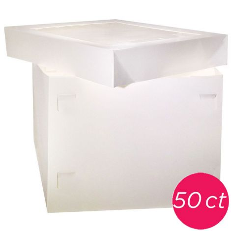 12x12x10 Box Window 2 pieces, 50 ct
