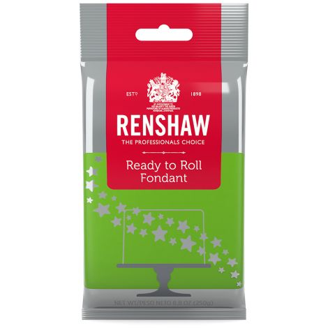 Ready to Roll Fondant Icing Bright Green 8.8 oz