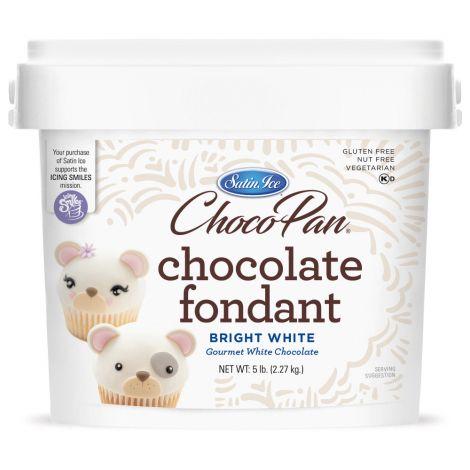 ChocoPan Bright White Covering Chocolate 5#