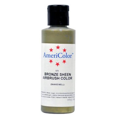 Amerimist Airbrush Color Bronze Metalic Sheen 4.5 oz