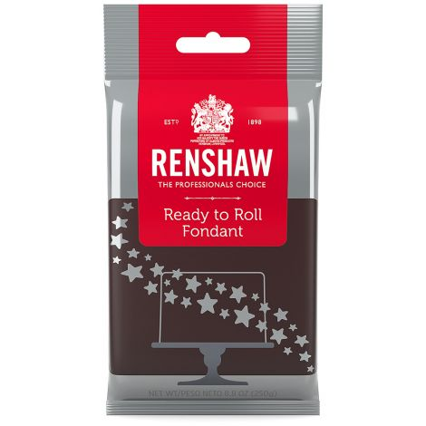 Ready to Roll Fondant Icing Brown 8.8 oz