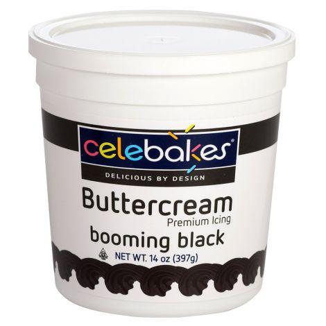 Celebakes Buttercream Icing 14 oz Booming Black