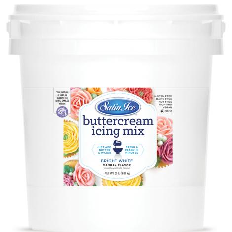 Satin Ice Buttercream Icing Mix 20#
