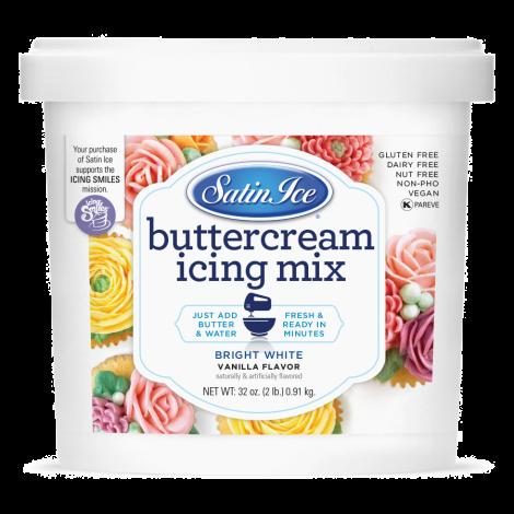 Satin Ice Buttercream Icing Mix 2#