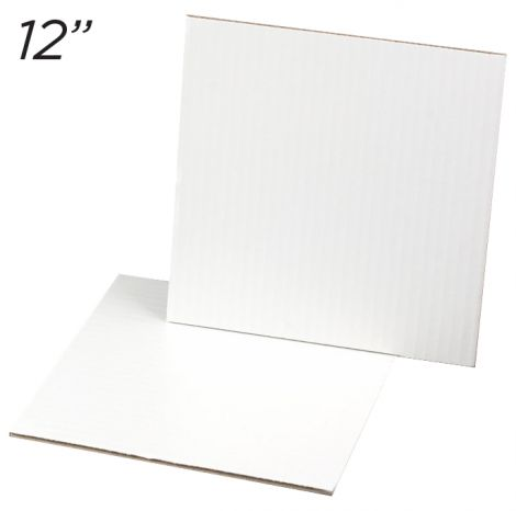 """Cakeboard Square 12"""", 25 ct"""