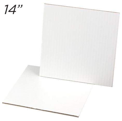 """Cakeboard Square 14"""", 25 ct"""