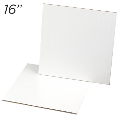 """Cakeboard Square 16"""", 25 ct"""