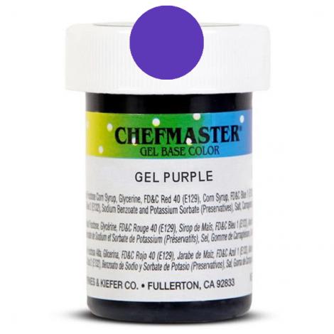 Gel Food Color Purple - 1 oz