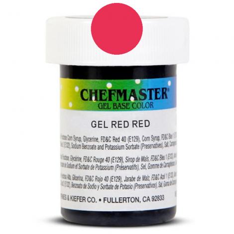 Gel Food Color Red Red - 1 oz