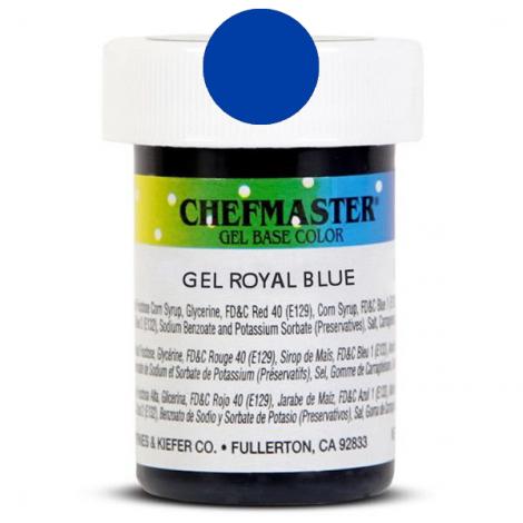 Gel Food Color Royal Blue - 1 oz